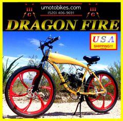 DO-IT-YOURSELF DRAGON FIRE 3G (TM) 2-STROKE GAS TANK FRAME CRUISER