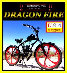 DO-IT-YOURSELF DRAGON FIRE 2G (TM) 2-STROKE EXTENDED CRUISER WITH HURRICANE MAG WHEELS