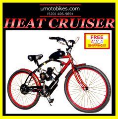 DO-IT-YOURSELF U-MOTO 2-STROKE HEAT CRUISER MOTORIZED BICYCLE SYSTEM