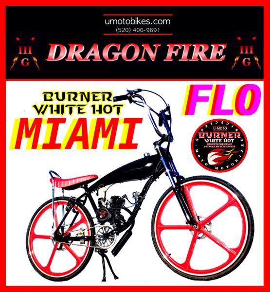 DO-IT-YOURSELF DRAGON FIRE 3G MIAMI FLO (TM) 2-STROKE GAS TANK FRAME CRUISER
