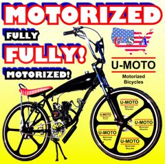 FULLY-MOTORIZED DRAGON FIRE 3G MIAMI FLO (TM) 2-STROKE GAS TANK CRUISER