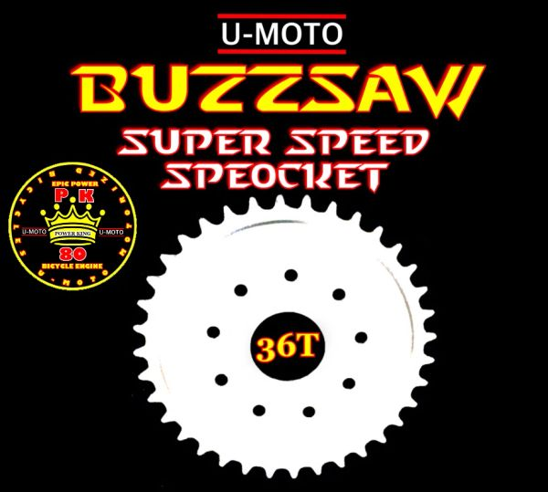 MOTORIZED BICYCLE 36-TOOTH SPROCKET 9-HOLE