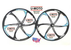 "26"" MAG WHEELS FOR MOTORIZED BIKE"