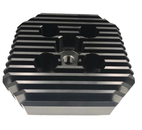 CNC Racing Head (Square Type/Black) for 66cc/80cc
