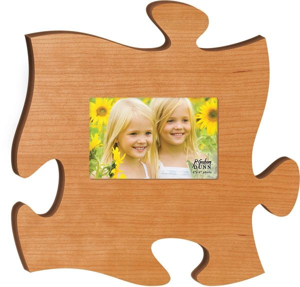 Puzzle Piece Picture Frame-Plain