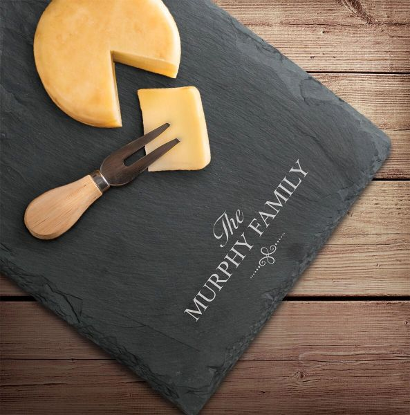 Slate Cheese Board
