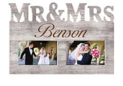 Mr&Mrs Picture Frame