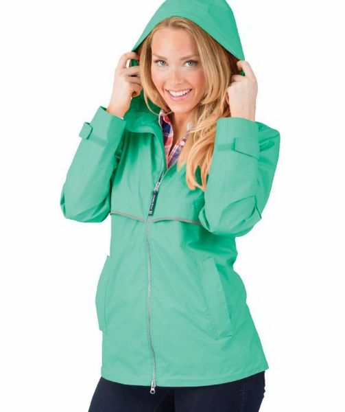 New Englander Raincoat - Monogram Available