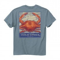 Tide and TImber- Steamed Crab