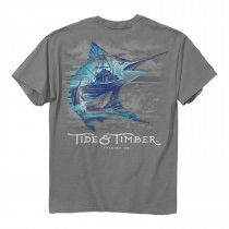 Tide and Timber- Marlin Scene