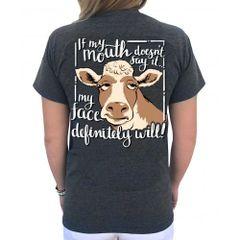 Southern Attitude -Cow Face