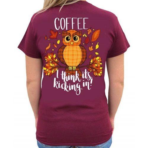 Southern Attitude -Coffee Owl