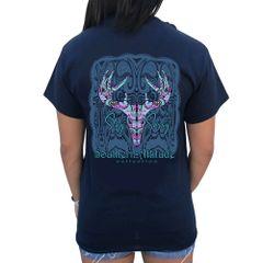 Southern Attitude - Paisley Skull