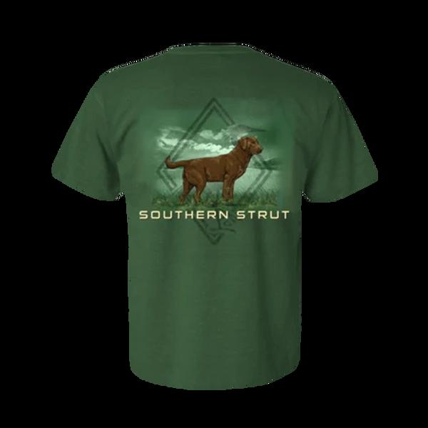 Southern Strut-Brown Lab