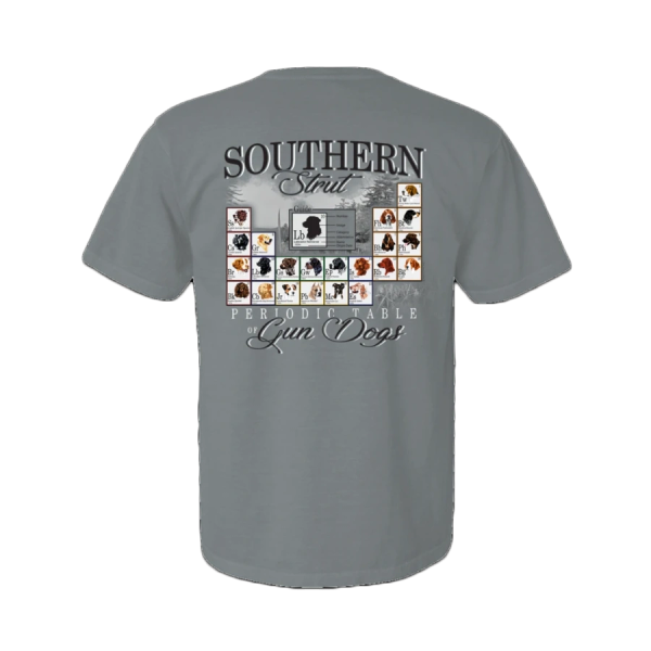Southern Strut-Periodic Table of Gun Dogs