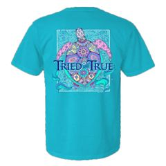 Tried & True-Mosaic Turtle