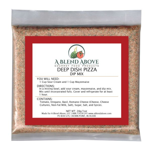 Deep Dish Pizza Dip Mix