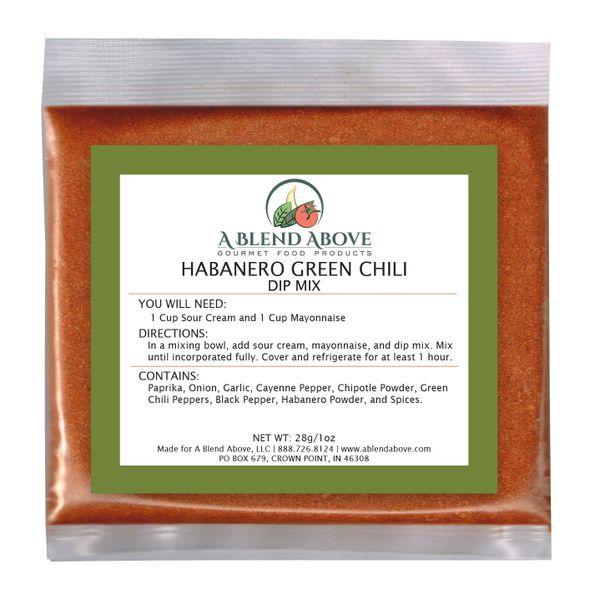 Habanero Green Chili Dip Mix