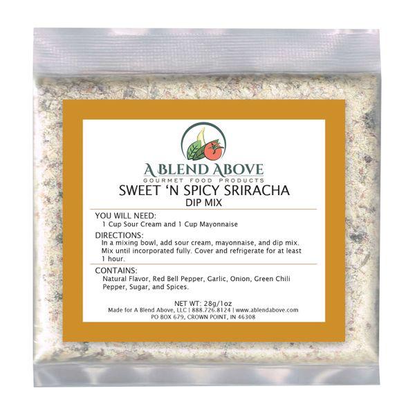 Sweet n' Spicy Sriracha Dip Mix
