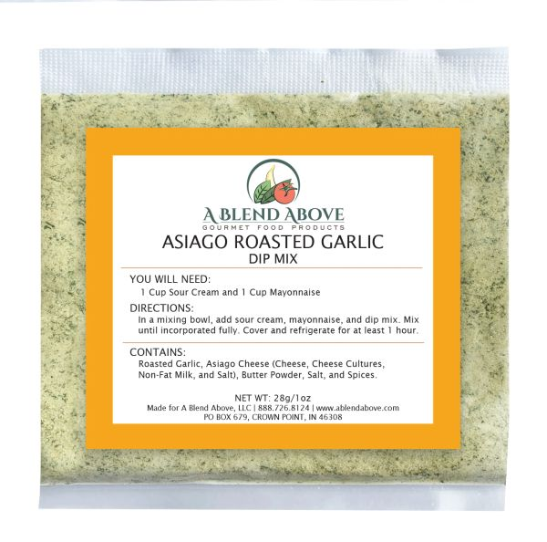 Asiago Roasted Garlic Dip Mix