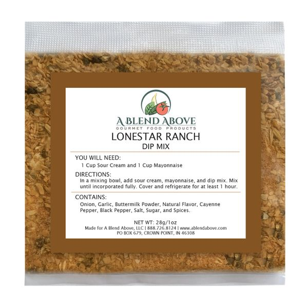 Lonestar Ranch Dip Mix