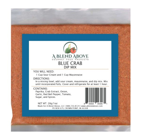 Blue Crab Dip Mix