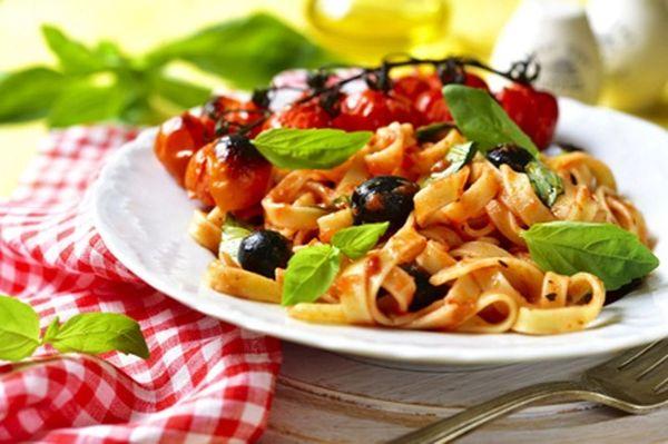 Tomato Black Olive Noodle Blend