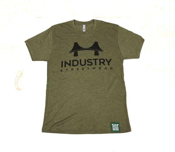 Industry Bridged Tee in Military Green