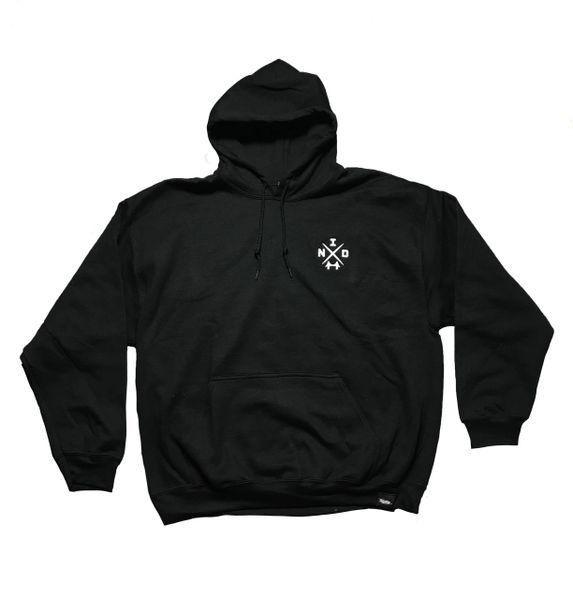 Bridged Hoodie in Black