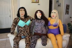 TIGRESS, EDGEY AND LUCIOUS GROUP PICTURE