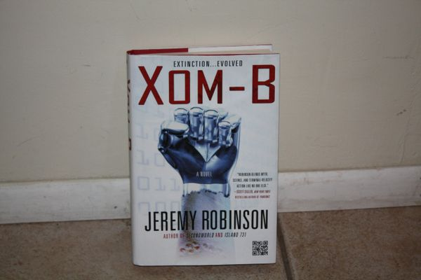 BOOK...XOM-B...BY JEREMY ROBINSON