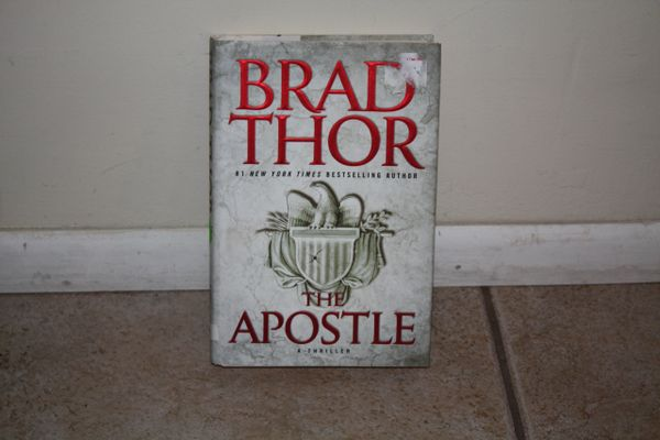 BOOK...APOSTLE...BY BRAD THOR... USED BOOK