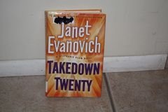 BOOK...TAKEDOWN TWENTY...BY JANET EVANOVICH...USED BOOK
