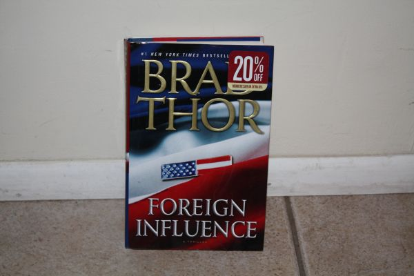 BOOK...FOREIGN INFLUENCE BY BRAD THOR...USED BOOK