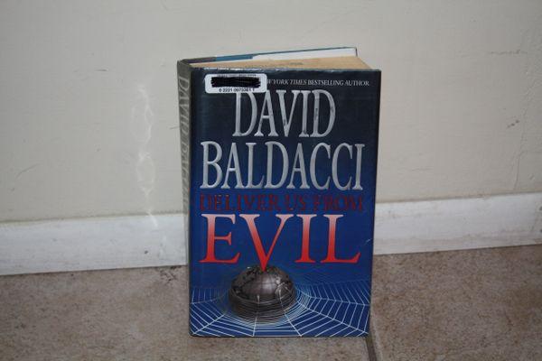 BOOK... EVIL BY DAVID BALDACCI...USED BOOK