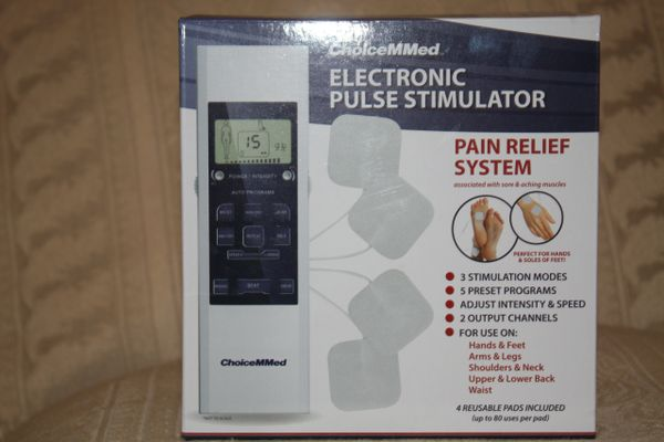 PULSE ELECTRONIC STIMULTOR.. IT RELIEVES THE BODY OF PAIN.