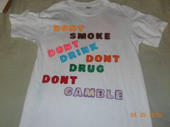 DON'T SMOKE .....