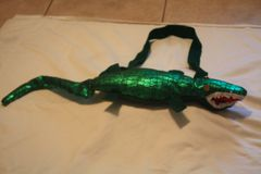 LARGE GATOR AS PURSE, FANNY PACK OR BELT BUCKLE