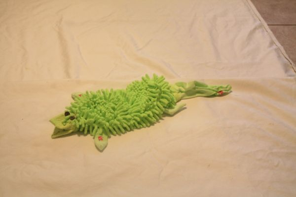 OUR MEDIUM SIZE BRIGHT GREEN GATOR IS LOVED BY MEN ALSO.