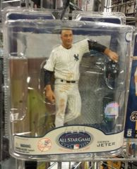 New York Yankees Derek Jeter Exclusive McFarlane Figure All Star