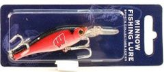 Wisconsin Badgers Minnow Fishing Lure