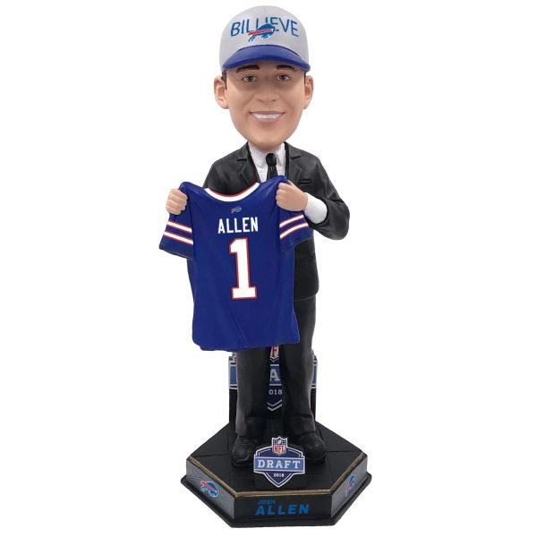 Josh Allen (Buffalo Bills) 2018 NFL Draft Bobblehead FOCO