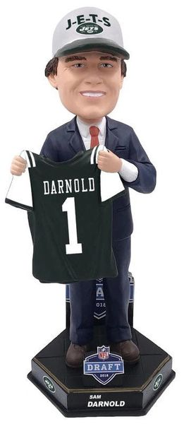 Sam Darnold (New York Jets) 2018 NFL Draft Bobblehead FOCO