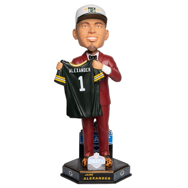 Green Bay Packers Jaire Alexander Draft Day Bobblehead Limited
