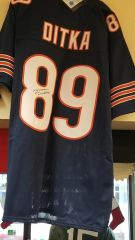 Mike Ditka Chicago Bears Autographed Jersey