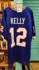 Jim Kelly Bills Autographed Jersey JSA