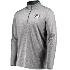 Green Bay Packers Grid Tex 1/2 Pullover Jacket