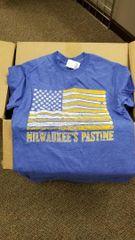 Milwaukee's Pastime Balls & Bats Flag Shirt