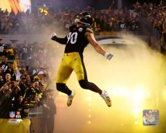 Pittsburgh Steelers T.J Watt Action 16X20 Canvas print