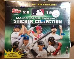 2019 TOPPS MLB Sticker Collection Box 50 Packs
